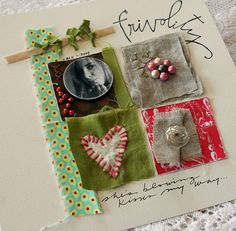 scrapbook page by Rebecca Sower, via Flickr