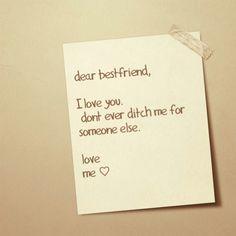 #letter #bestie #best #friend #ditch #iloveyou #textagram #love #heart #me #you #cute #aww #awh #cute #smiley #face xx