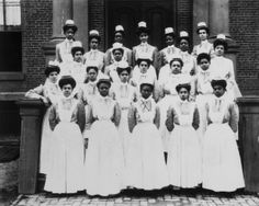 Freedmen's Nurses An undated photo of a group of nurses from the Freedmen's Hospital School of Nursing.