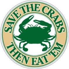 FOR > Our Programs > Advocacy > Save the Crabs, Then Eat 'Em