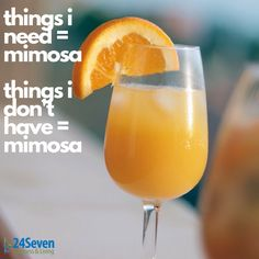Never a bad time for Mimosa's!