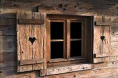 Amazing chalet design to your winter chalet. Chalet Design, Chalet Style, House Design, Window Shutters, Cabins And Cottages, Cabins In The Woods, Log Homes, Architecture, Windows And Doors