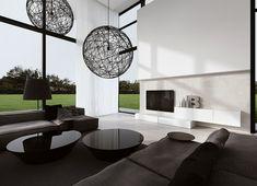 Innenarchitektur Carbone raamdecoratie voor hoge ramen interiors mansion and living rooms