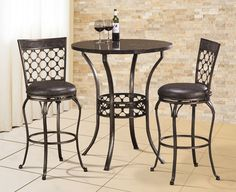 Get Hillsdale Furniture Brescello Bistro Dining Set, Grey On Sale today at Kohl's! Compare Kitchen Furniture prices & check availability for Hillsdale Furniture Brescello Bistro Dining Set, Grey. Kitchen Dining Sets, Dining Room Sets, Dining Table, Pub Tables, Kitchen Ideas, Bar Table Sets, 3 Piece Dining Set, Hillsdale Furniture, Pub Set