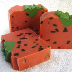 Ripe STRAWBERRY soap artisan scented bar soap summer special for farmers market