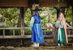 """""""park bogum and kim yoojung in moonlight drawn by clouds ✧ behind the scenes""""1000 x 688"""" """""""