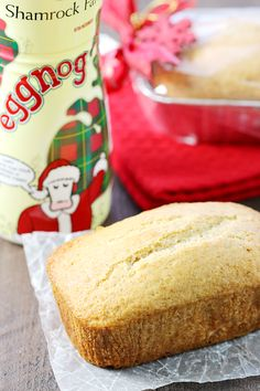 Keep a loaf for yourself & pair the others in a gift basket alongside Shamrock Farms festively-packaged eggnog to spread a little holiday cheer.