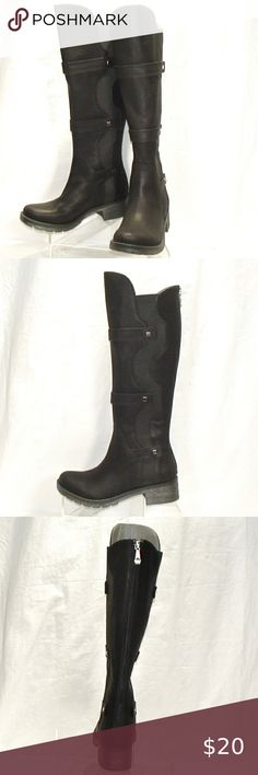 I just added this listing on Poshmark: Womens Mootsies Tootsies Dario Tall Boots Size 6. #shopmycloset #poshmark #fashion #shopping #style #forsale #Mootsies Tootsies #Shoes Black Leather Sneakers, Tall Leather Boots, Black Heel Boots, Tall Boots, Black Booties, Suede Boots, Shoes Heels Boots, Heeled Boots, Furry Boots