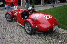 1951 Ermini 1100 Sport http://test.automotivemasterpieces.com/news/121-rare-automotive-masterpieces-at-franciacorta-historic-2014.html