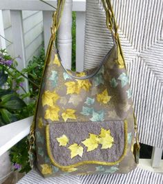 The Cosmo Convertible bag sewing pattern by StudioKat Designs, can quickly and easily transform from a shoulder bag to a hands-free backpack by simply re-configuring the straps!  Add the snap-on strap extensions to add cross-body carrying to your Cosmo.  This versatile bag is the perfect size for all of your everyday items as well as your iPad! Get the Pattern  Advertisement   Teach Yourself to Sew: Bias Binding
