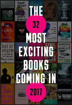 Here are the books we can't wait to read in 2017! (Ranked in no particular order.) | Best books to look forward to 2017 | New books coming out 2017 | book list, reading list 2017