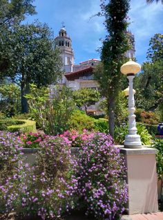 Gorgeous gardens at Hearst Castle