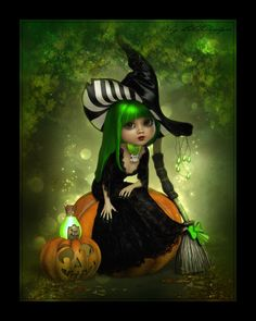 LittleDesign: Sweet tiny witch