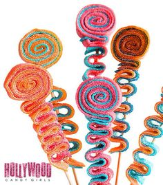 We are The Hollywood Candy Girls and our world and business consist of all things candy and wed like to welcome you into our crazy lil Candy World! These Custom Candy Stick Kabobs, Sweet Sticks, Candy Skewer Sticks, Skewers, Kebabs, Candy Party Favors, Party Treats, Candy Land Party, Hollywood Candy, Wedding Reception Party Favors, Lollipop Candy