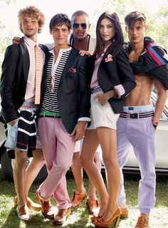 Tommy Hilfiger Preppy Look