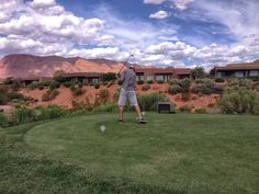 Beautiful signature Johnny Miller Golf Course at Entrada At Snow Canyon. www.lavafallsentrada.com
