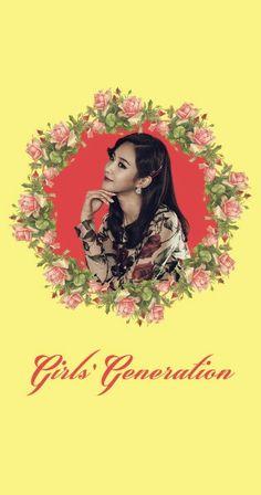 Girls' Generation SNSD Yuri Lion Heart Lockscreen Phone Wallpaper
