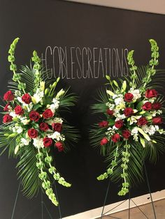 Order flowers online from your florist in Sand Springs, OK. Coble's Flowers, offers fresh flowers and hand delivery right to your door in Sand Springs. Funeral Spray Flowers, Flower Wreath Funeral, Funeral Sprays, Casket Flowers, Grave Flowers, Cemetery Flowers, Funeral Floral Arrangements, Creative Flower Arrangements, Church Flower Arrangements