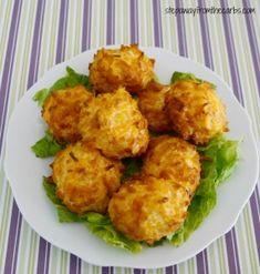 Low Carb Crispy Cheese Balls Recipe on Yummly. @yummly #recipe