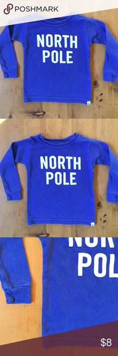 Baby Gap North Pole T I love this 12 to 18 months soft comfortable great condition 12 in long sleeves 91/2 in long 9 in chest GAP Shirts & Tops