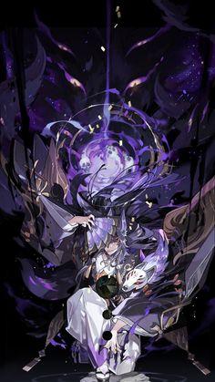 Fantasy Kunst, Dark Fantasy Art, Fantasy Artwork, Fantasy Character Design, Character Design Inspiration, Character Art, Dark Anime, Anime Kunst, Anime Art