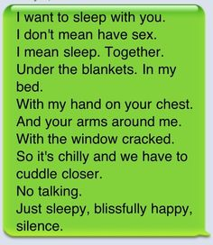 The best kind of cuddling