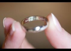 100 sentimental wedding ideas youll want to steal engraved wedding ringswedding - Wedding Ring Engraving Ideas