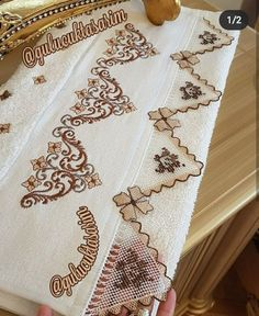 Needle Lace, Cross Stitch Patterns, Quilts, Blanket, Beautiful, Decor, Instagram, Cross Stitch, Decoration