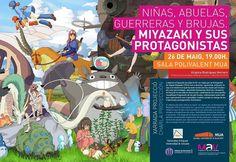 No os lo perdáis! El 26 de mayo en el MUA. #mua #alicante #japan #culture #miyazaki #hayaomiyazaki #film #character #totoro #mononoke #ua by nihonnobunka