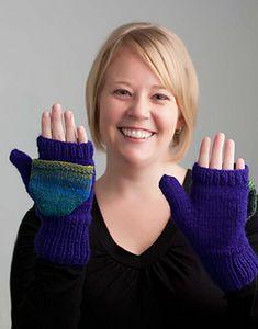 Pop Top Mittens knitting pattern