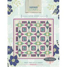 FREE PATTERN: Safari Stars (from Art Gallery Fabrics)