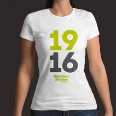 T-Shirts that tell a story through culture, history and inspiring life stories from Easter Visit to get your Ladies 1916 T-Shirt. T Shirts For Women, Lady, Tops, Fashion, Moda, Fashion Styles, Fashion Illustrations