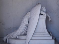 Bereft angel. Metairie Cemetery, New Orleans. I used to live in Metairie in early '70's. New Orleans has many beautiful old cemeteries.