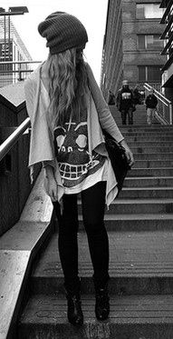 I love this because it is so laid back, and i just love beanies!