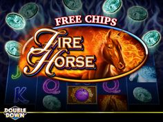 (EXPIRED) Fire Horse is blazing a trail in DoubleDown Casino... have you tried it yet? If not, tap the Pinned Link and take a ride with 200,000 free chips (or use code CKVRRH)