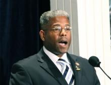 """West: Nothing a 'Liberal Progressive Fears More' Than a Black Conservative    """"There's nothing on this green earth that a liberal progressive fears more than a black American who wants a better life and a smaller government,"""" West said.    Conservatives """"understand that the Constitution was written to control and regulate the government, not the people,"""" he said."""