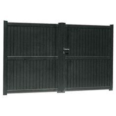 rv gate landscape designs pinterest gates. Black Bedroom Furniture Sets. Home Design Ideas