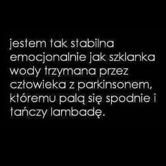 Tak na poprawę humoru :) Mood Quotes, Life Quotes, Sad Pictures, Happy Photos, Motivational Words, Wallpaper Quotes, Positive Vibes, Writing Advice, Quotations