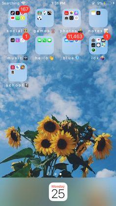 my phone organization