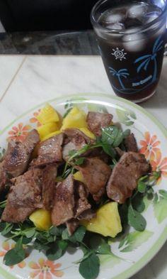 Pineapple & Pork Salad