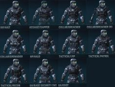 halo reach cqc armor | default unlocked at recruit default armor hp halo viewable at