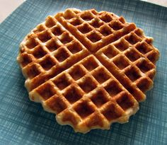 Whole grain waffles... Looks like we will need a new waffle iron after all.
