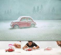 Toy Photography – Les mises en scène miniatures de Felix Hernandez