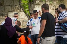 Palestinians Attacked for Marching With Israelis -  5.31.15 - guess who they were attacked by.... | Israel Today