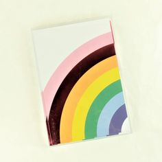 Over the Rainbow Note Card Set Rainbow Card, Paper Products, Desk Set, Over The Rainbow, Classic White, Original Image, Joyful, White Envelopes, Note Cards