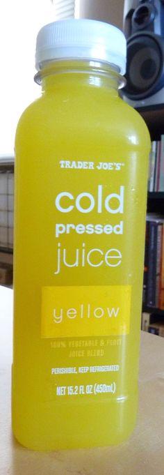 What's Good at Trader Joe's?: Trader Joe's Yellow Cold Pressed Juice