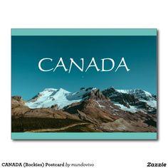 CANADA (Rockies) Postcard