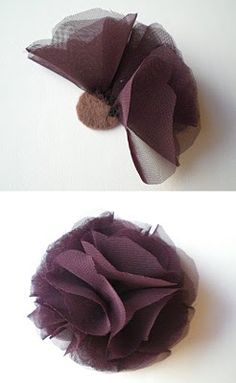 Ador: headband tutorial (or shoe clips)