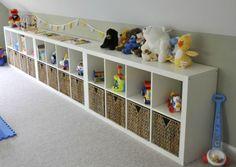 10 Toys Storage Ideas (hide your toys)