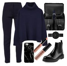 """""""Winter's dark"""" by lerazhihareva on Polyvore featuring мода, Aspinal of London, WtR, Ille De Cocos, Prada, Newgate, Recover и NYX"""